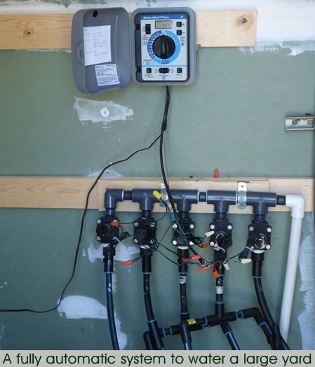 drip irrigation manifold